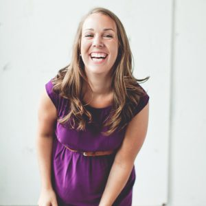 A Photo of Abbey Bradley: Chief Operating Officer and Marketing Ambassador for Thrive Creative Group