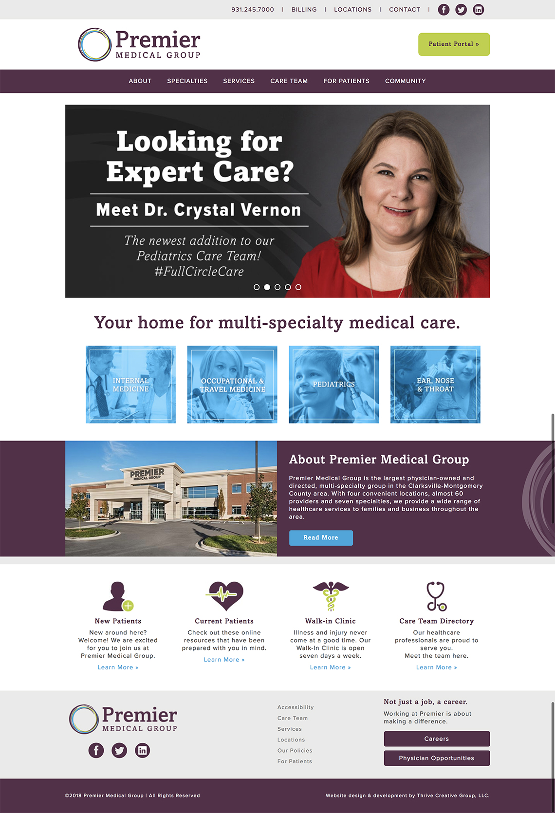 Top-Premier-Medical-Group-physician-Website-Tennessee