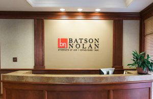 batson nolan lawyer brand logo design tn