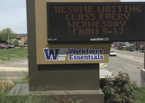 Sign-design-WorkForce-Essentials-Clarksville-Tn-by-Thrive-mockup