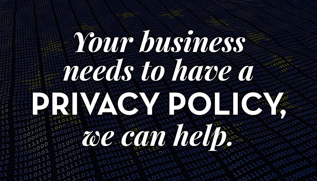 What you need to know about requirements for website privacy policies