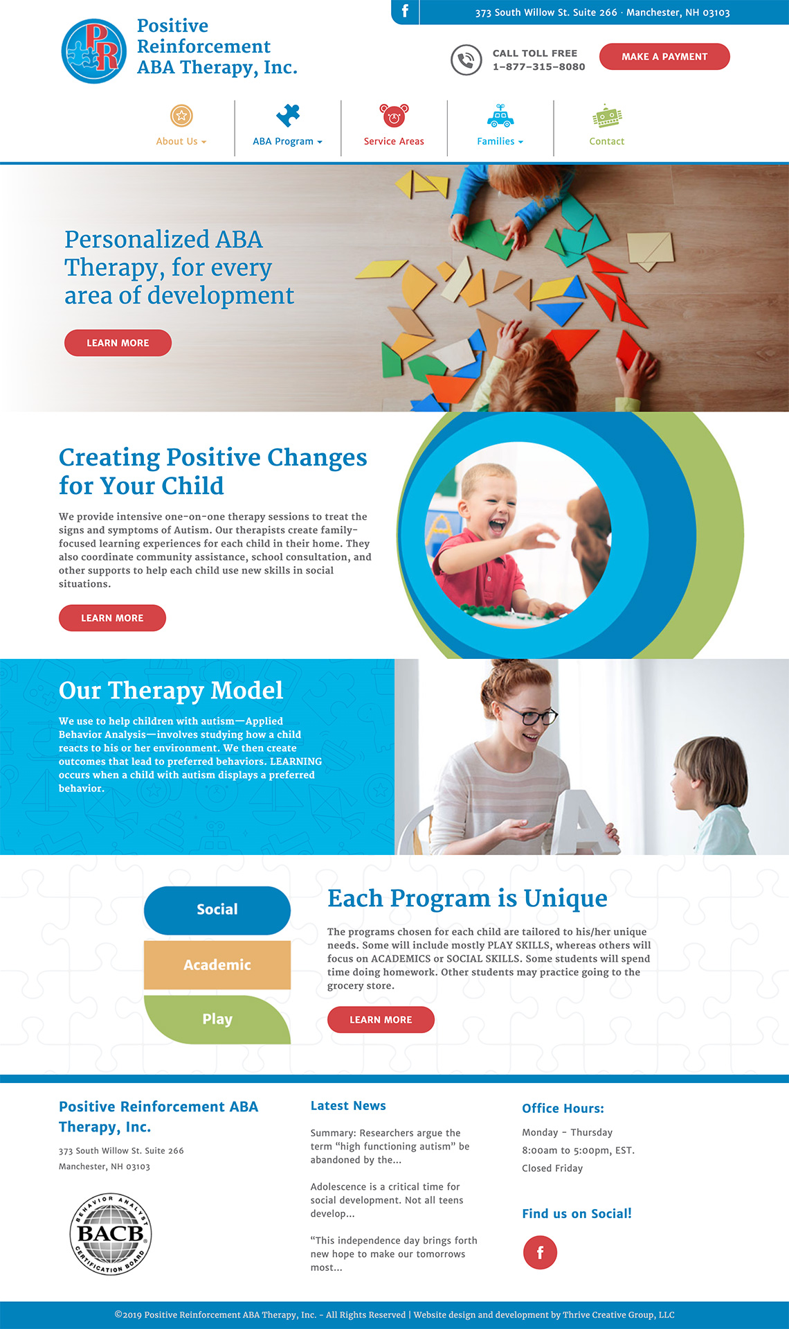 Positive-Reinforcement-ABA-Therapy-website-design
